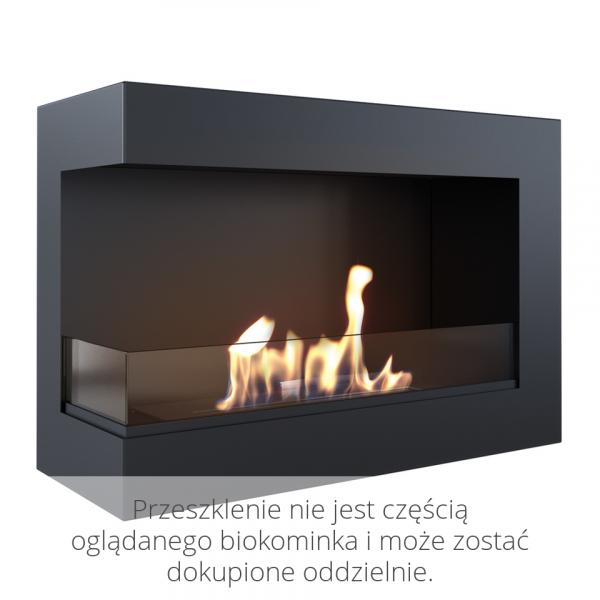 Биокамин Kratki DELTA 700 левый с сертификатом TUV