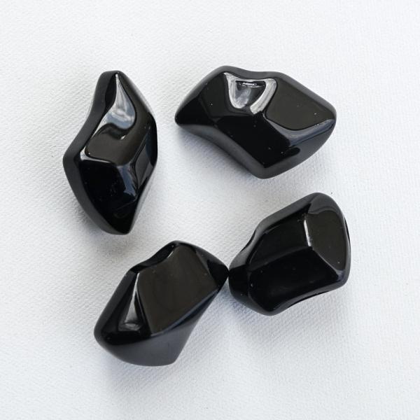 Камінці декоративні FIRE GLASS - кристал чорні