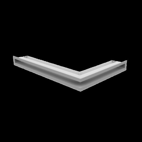 Решітка LUFT кутова ліва біла 60x40x6