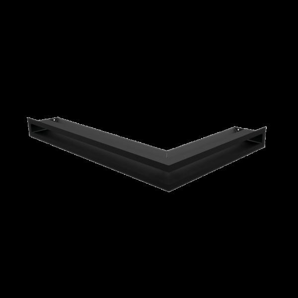 Решітка LUFT кутова ліва чорна 60x40x6