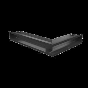 Решетка LUFT SF угловая левая черная 60x40x9