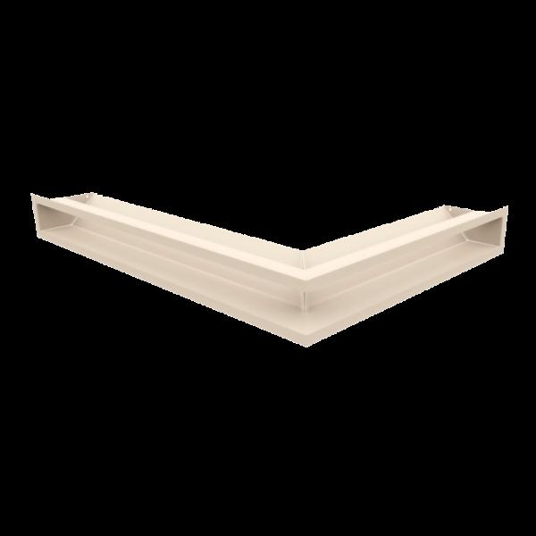 Решітка LUFT кутова ліва кремова 76,6x54,7x9