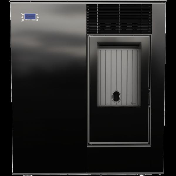 Пелетна піч Kratki VIKING 8 панель чорний (8,0 кВт)