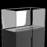 Скло для біокаміну ROMEO - переднє