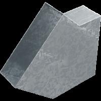 Коліно прямокутне 45°