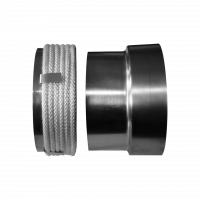 Перехідник сталева труба - керамічний димохід Ø 200