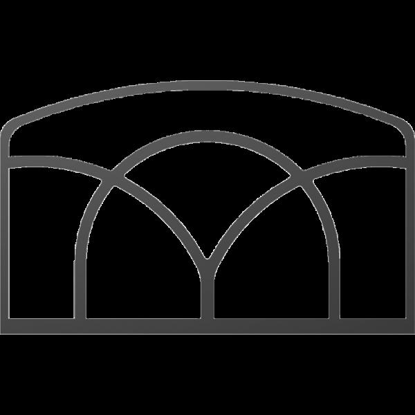 Декор для дверей KOZA K6 і K9 M Kratki