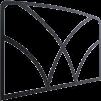 Декор для дверей KOZA K7 VV