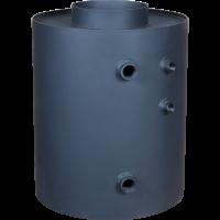 Турбодим з водяним контуром (вертикальний нагрів води)