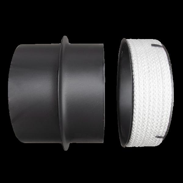 Перехідник сталева труба - керамічний димохід Ø 180/200