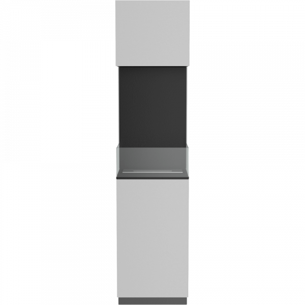 Біокамін Kratki SIERRA білий з склом і з сертифікатом TUV