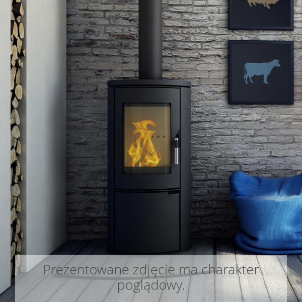 Стальная печь-камин Kratki KOZA AB (8,0 кВт)