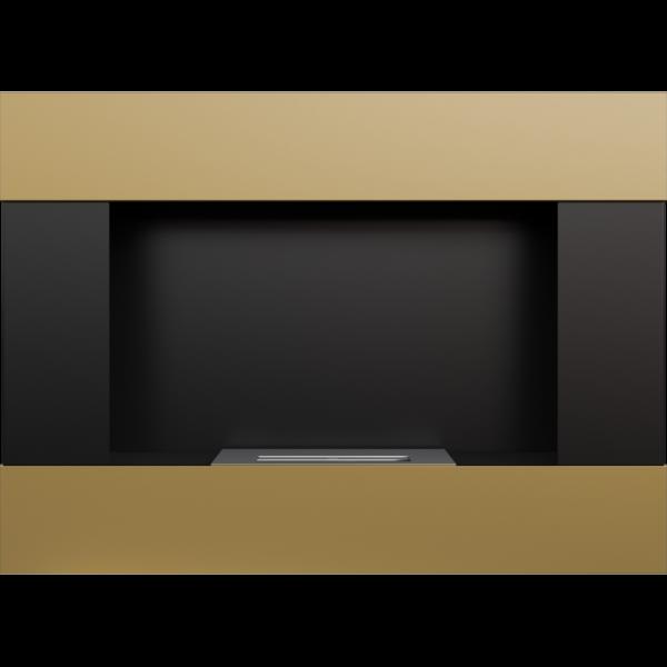 Біокамін Kratki BRAVO золото гальванічне з сертифікатом TUV