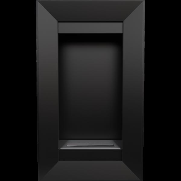 Биокамин Kratki CHARLIE 2 черный с сертификатом TUV