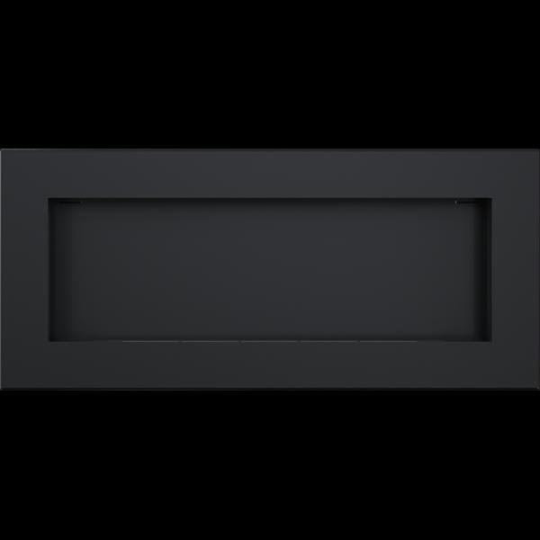 Биокамин Kratki DELTA 2 SLIM черный с сертификатом TUV