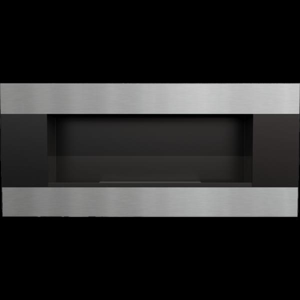 DELTA 2 чорний HORIZONTAL з склом і з сертифікатом TUV