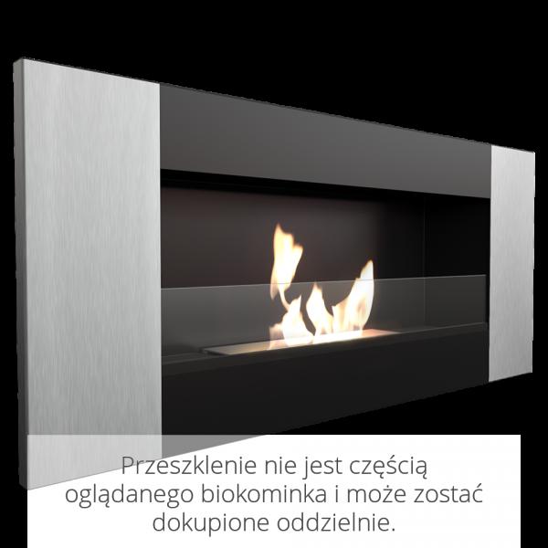 Біокамін Kratki DELTA 2 чорний VERTICAL з сертифікатом TUV