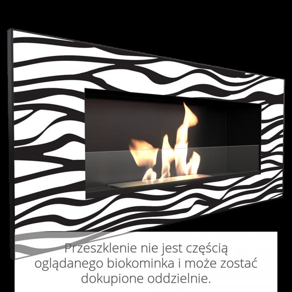 Біокамін Kratki DELTA 2 чорний ZEBRA з сертифікатом TUV
