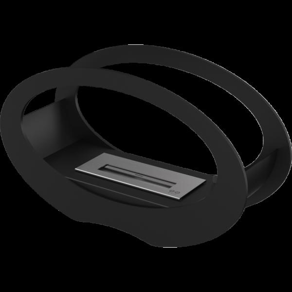 Біокамін Kratki ECHO чорний з сертифікатом TUV
