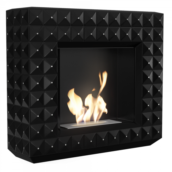 EGZUL чорний з кристалами Swarovski матовий з сертифікатом TUV