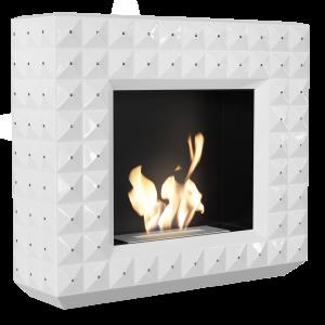 EGZUL білий з кристалами Swarovski глянцевий з сертифікатом TUV