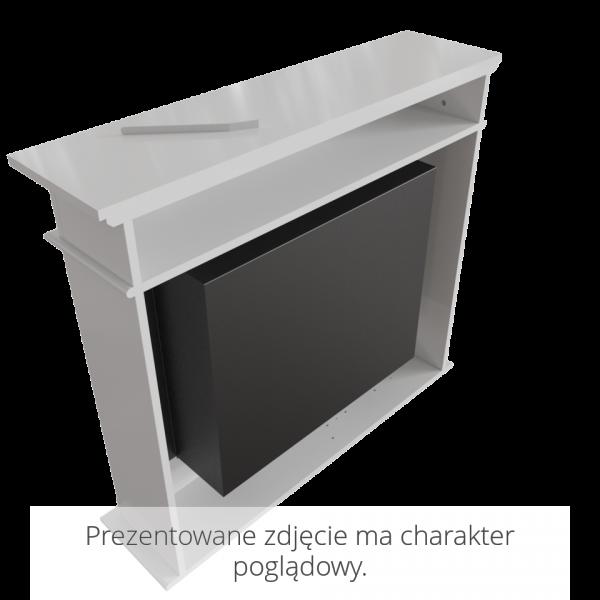 Биокамин Kratki OCTOBER белый с сертификатом TUV