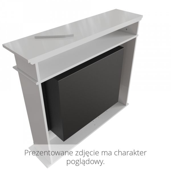 Биокамин Kratki NOVEMBER белый с сертификатом TUV