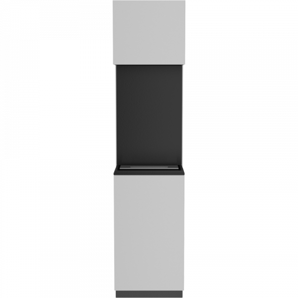 Биокамин Kratki SIERRA белый с сертификатом TUV