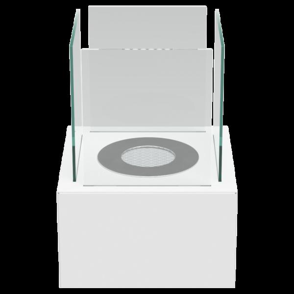 Биокамин Kratki TANGO 2 белый с сертификатом TUV