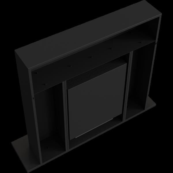 Біокамін Kratki WHISKEY 2 чорний з сертифікатом TUV