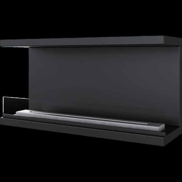 Біокамін Kratki X-RAY чорний з сертифікатом TUV
