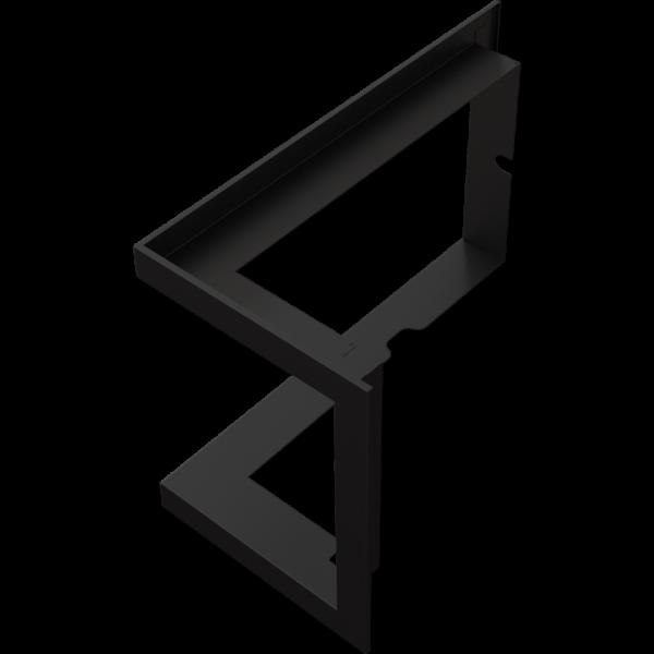 Рамка стальна для ZIBI 12 права BS Kratki