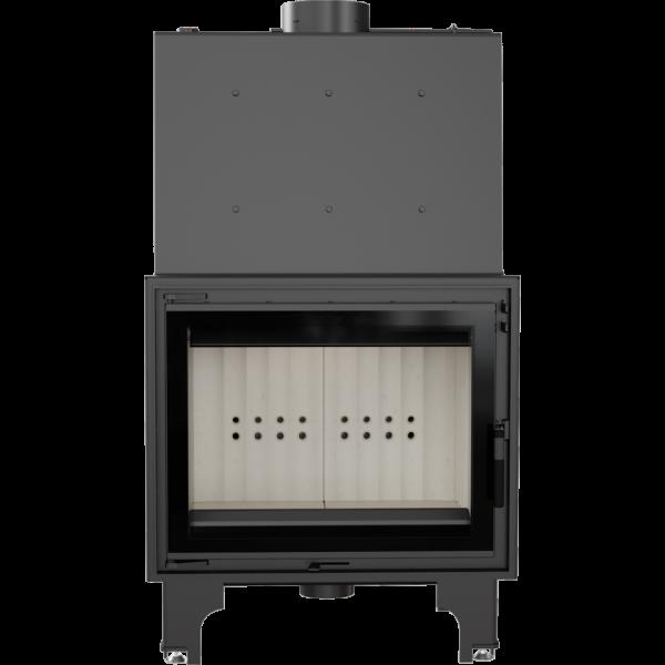 Камінна топка Kratki AQUARIO A18 PW GLASS (18,0 кВт)
