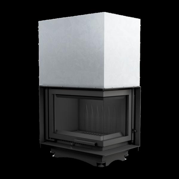 Каминная топка Kratki MAJA 12 правая BS гильотина (12,0 кВт)