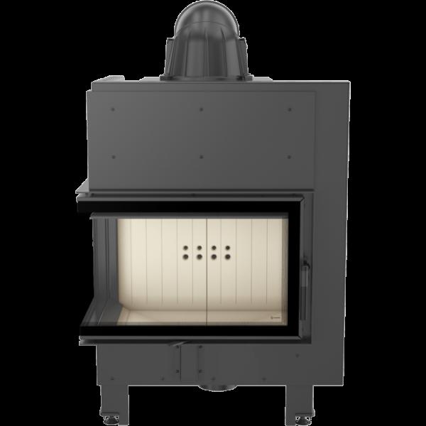 Каминная топка Kratki MBM 10 левая BS (10,0 кВт)
