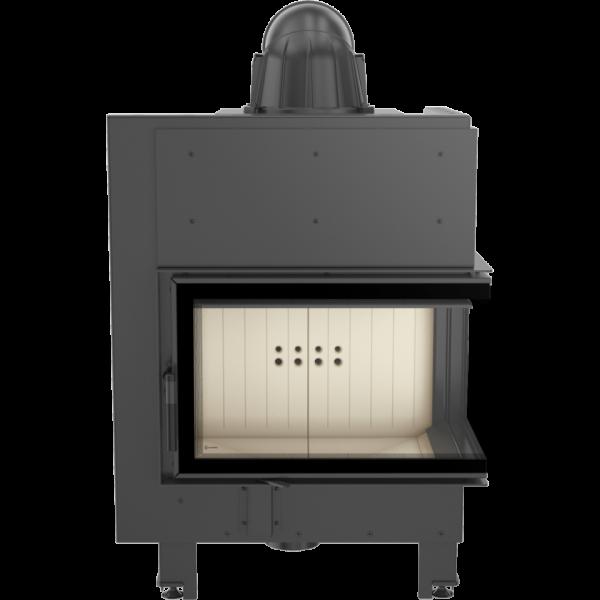 Каминная топка Kratki MBM 10 правая BS (10,0 кВт)