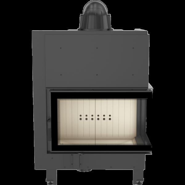Камінна топка Kratki MBO 15 права BS гнуте скло (15,0 кВт)