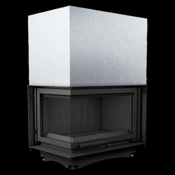 Каминная топка Kratki OLIWIA 18 левая BS гильотина (18,0 кВт)