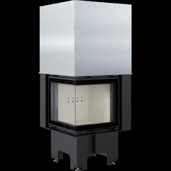 Камінна топка Kratki VN 480/480 ліва BS гільйотина (8,0 кВт)