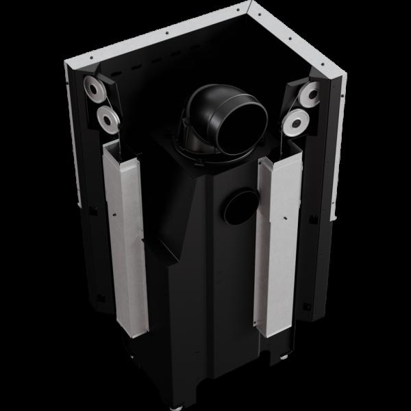Каминная топка Kratki VN 610/430 левая BS гильотина (9,0 кВт)