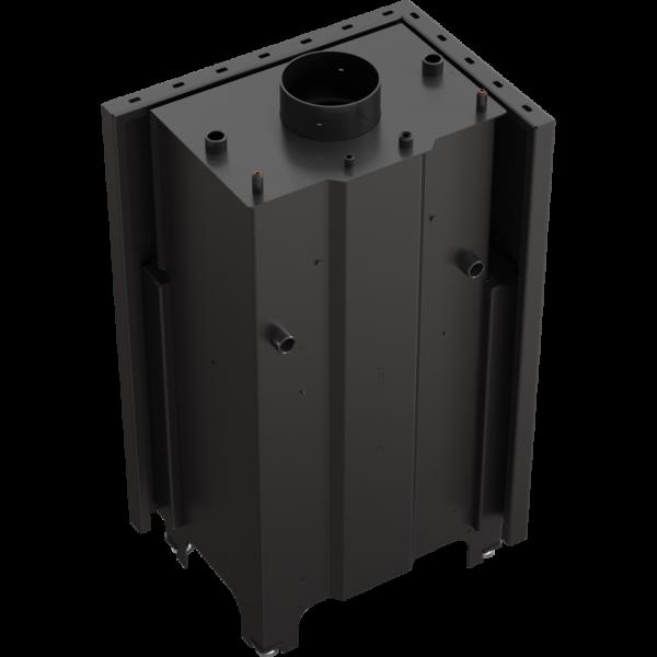 Камінна топка Kratki MBZ PW 13 ліва BS (13,0 кВт)