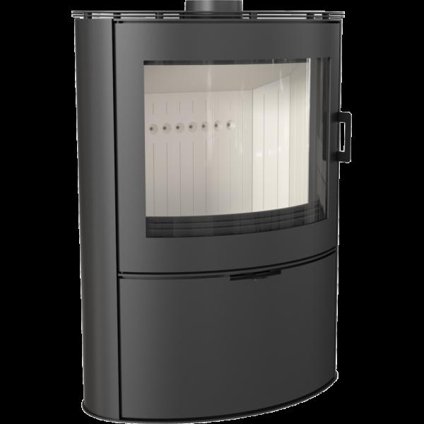 Стальная печь-камин Kratki KOZA AB S/2 (10,0 кВт)