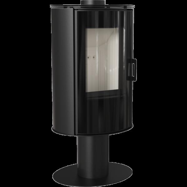 Сталева піч-камін Kratki KOZA AB S/N/DR GLASS (8,0 кВт)