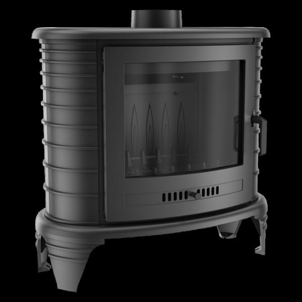 Чугунная печь-камин Kratki KOZA K8 (9,0 кВт)