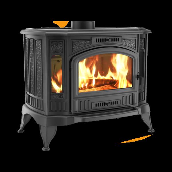 Чавунна піч-камін Kratki KOZA K9 Ø 150 (10,0 кВт)