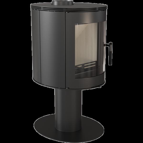Сталева піч-камін Kratki KOZA ORBIT (7,0 кВт)