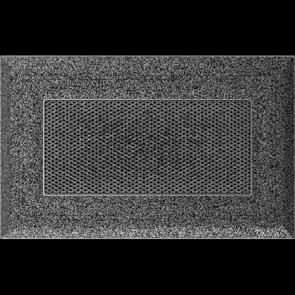 Решітка Oskar чорно-срібна 11x17