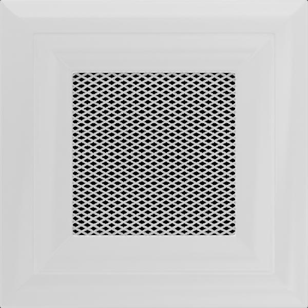 Решітка Oskar біла 11x11
