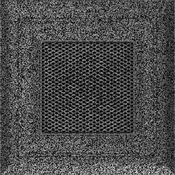 Решітка Oskar чорно-срібна 11x11