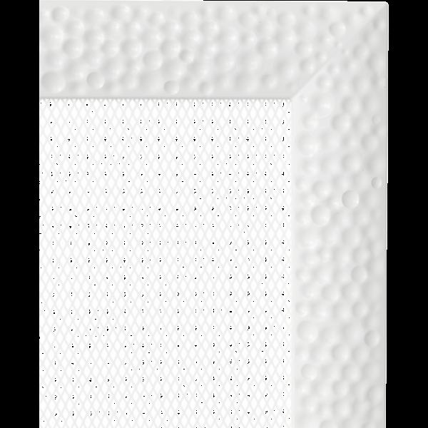 Решітка Venus біла 22x37